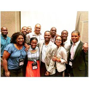 National Association of Black Journalists Sports Task Force newly elected board of directors.