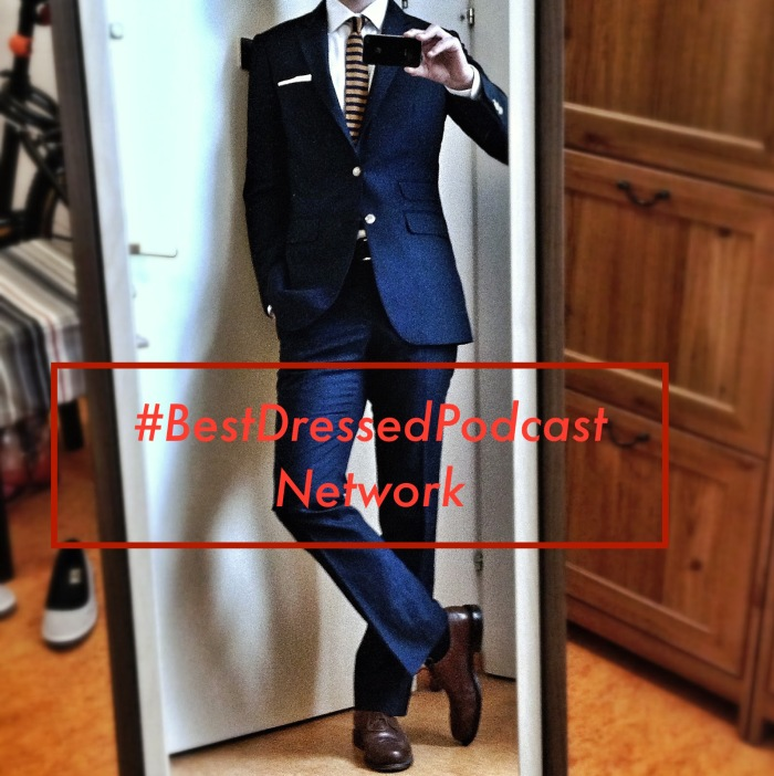 bestdressed podcast suit