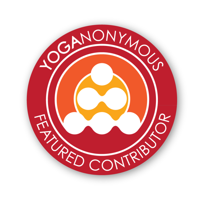 Yoganonymous Badge