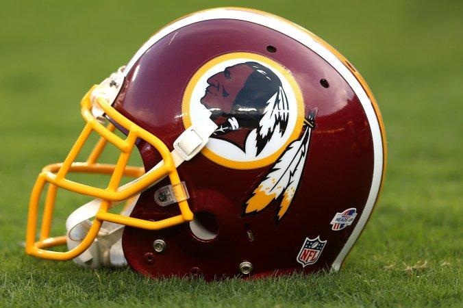 Redskins helmet 2