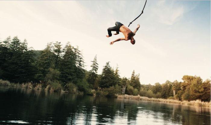 swinging-rope